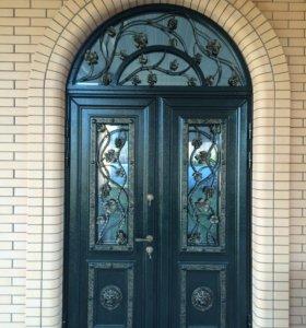 Вохдые двери