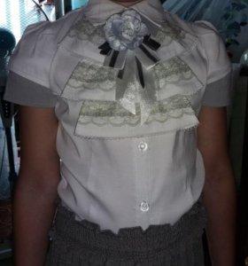 Блузка для первокласницы и не только