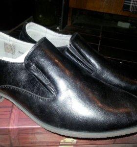 Обувь мужская новая 41 размер искусств. кожа