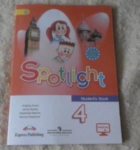 Учебник по английскому  Spotjight 4 класс