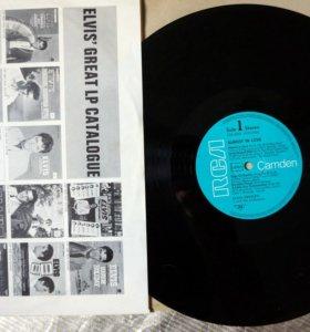 Виниловый диск Элвиса  Пресли