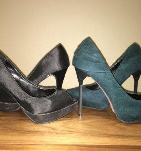 Туфли - две пары- 39 размер - дешево
