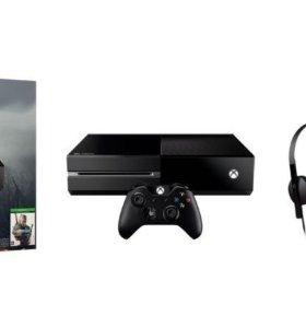 Игровая приставка microsoft Xbox One 500Gb + Ведьм