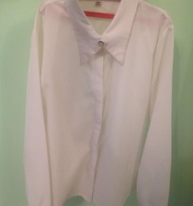 Рубашка цвета шампани/светлее/