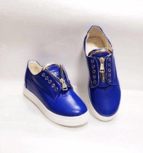 Новые слипоны ботинки Balmain