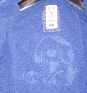 Куртка детская утепленная на флисе! На ребенка 18-