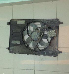 Вентилятор радиатора на Mondeo