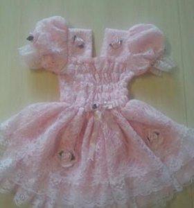 Платье на маленькую принцессу.