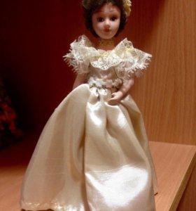 Куколка керамическая