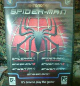 Игровой диск на PC spiber-man