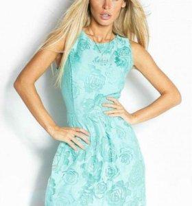 Новое платье из органзы