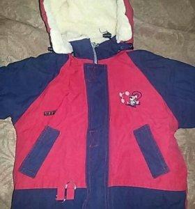 Зимняя курточка 98 р-р