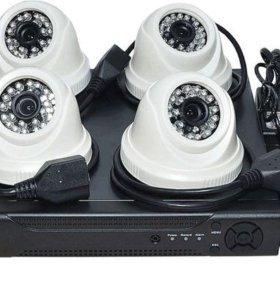 Установка видео домофона и видеонаблюдения