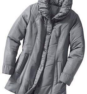 54-56 р. Новая куртка серая теплая