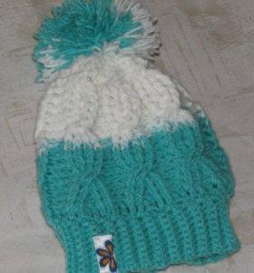 Вязаная шапочка для маленькой молницы