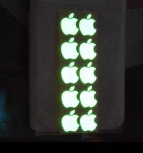 Логотип Apple светонакопительный