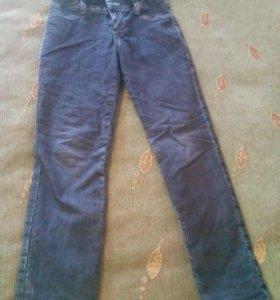 Утепленные детские джинсы