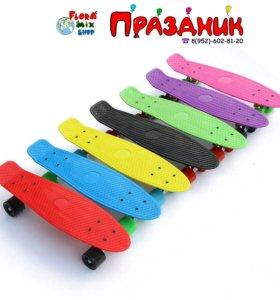 Скейтборды в Flora Mix Shop