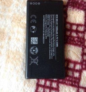 Новая оригинальная батарея на Nokia x dual sim