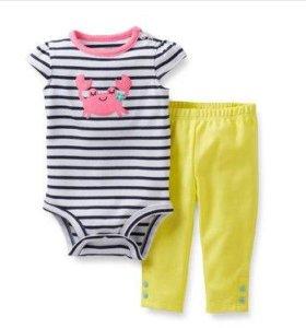 Новый комплект одежды американского бренда Carter'
