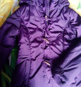 Куртка -пуховик ,теплая Alcott