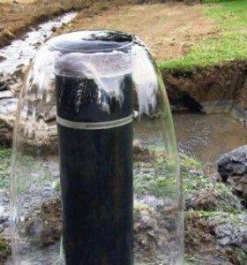 Бурение скважин на воду малогабаритной установкой
