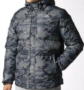 Новый зимний пуховик Adidas XS