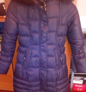 Куртка зима на девочку 10-12 лет