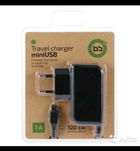 Сетевое зарядное устройство mini usb