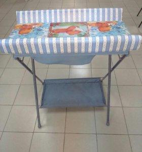 Ванна для новорожденного с пеленальным столом на п