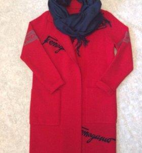 Кардиган - пальто, р-р 42-46