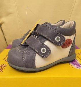 Новые ботиночки нат.кожа
