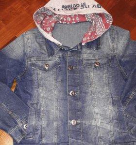 Куртка джинсовая De Salitto Рост 150 см.