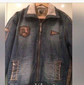 куртка джинсовая ,  новая