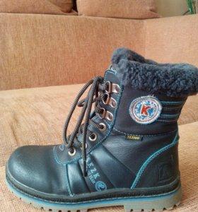 Детские ботинки теплые размер 31