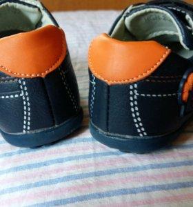 туфельки на мальчика 22 размер