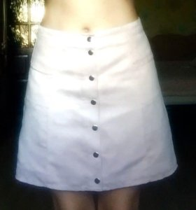 Нежно розовая юбка