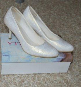 Свадебные туфли,р-р 40