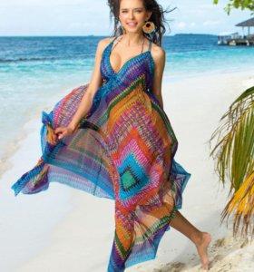 Пляжный сарафан L/XL