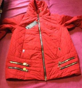 Куртка на синтепоне размер 54