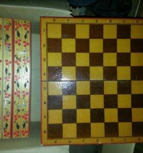 Доска шахматная новая