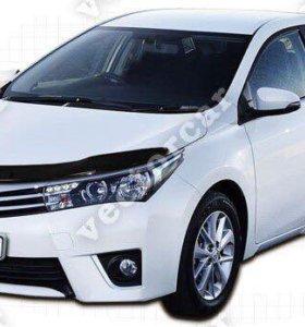 Дефлектор Toyota Corolla куз. Е18#(2013-2016)