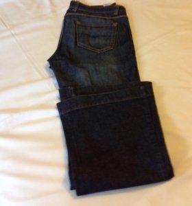 1)джинсы-клёш (mark@spenser)12размер