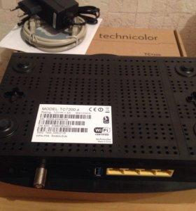 Wi-Fi маршрутизатор TECHNICOLOR TC7200.d