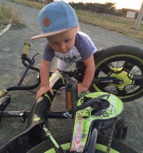 Велосипед для мальчиков на 4-6 лет