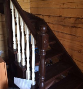 Деревянные лестницы под ключ