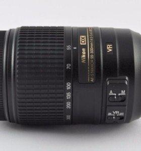 Объектив Nikon 55-300 mm