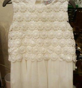 Платье с жакетом 80 см.