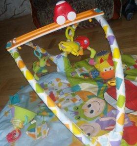 Развивающий коврик для малыша Yookidoo + игрушки