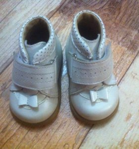 Ботиночки на первый шаг 16 размер
